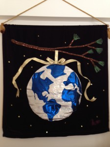 Ann Woodbeck's wall hanging